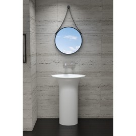 Stone Freestanding Basin Gloss
