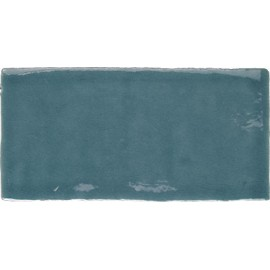 Artisan Craquelle Bleu turquoise 7.5 x 15
