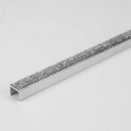 10x10 Silver Glitter Box Listello