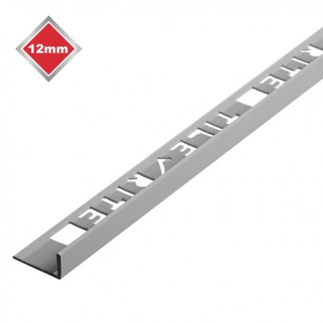 8 mm Grey L Shape PVC Tile Trim