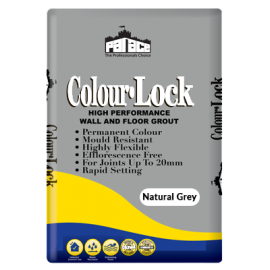 Palace Colour Lock Natural Grey Grout 3kg