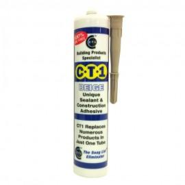 CT1 Beige Unique Sealant & Construction Adhesive Colours Beige 290ml