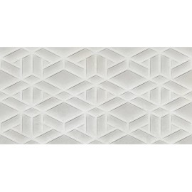Saloni Industrial Grid Perla 30X60