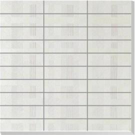 Perla Bianco Polished Porcelain Mosaics 30x30cm
