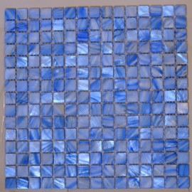 (OHSH-07) Light Blue Shell Mosaic Sample