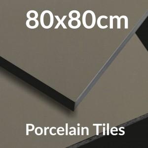 Porcelain 80x80cm Tiles