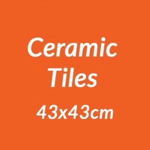 Ceramic 43x43cm Tiles