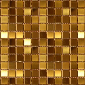 Gold Stainless Steel Mosaics